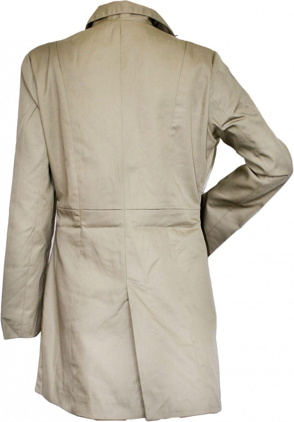 german wear damen mantel trenchcoat aus baumwolle beige. Black Bedroom Furniture Sets. Home Design Ideas