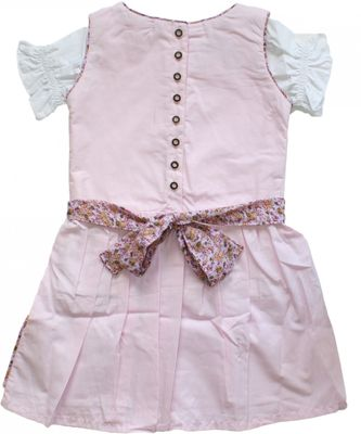 Three-pieces Girl Dirndl Trachten Dress Girly, colour: pink – image 2
