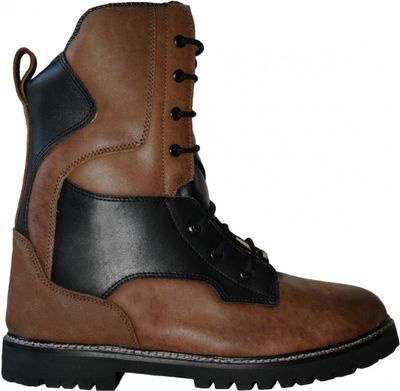 Hunting Boot made of real Cowhide, colour: brown – image 3