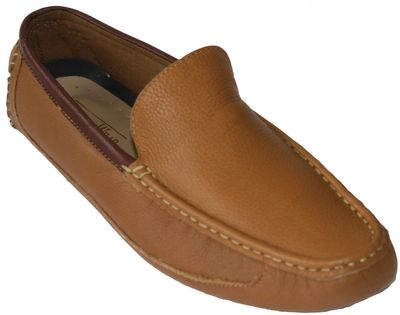 Driving moccasin moc Casual Shoes Nubuck Leather Mustard – image 1