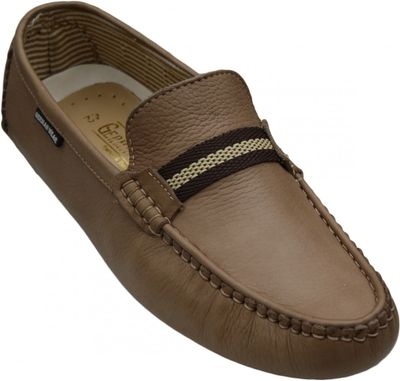 Driving moccasin moc Casual Shoes Nubuck Leather Brown – image 3