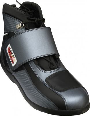 Motorbike Racing Sport Boots colour black/ Grey – image 1