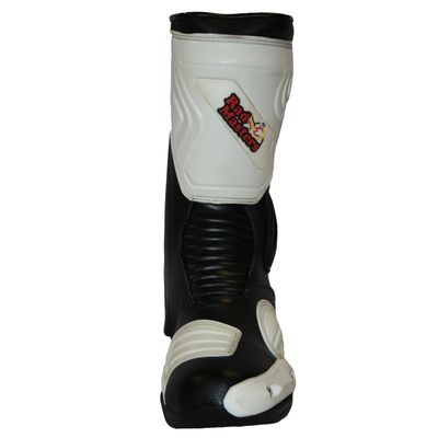 Motorbike Racing Sport Boots colour black/white – image 5
