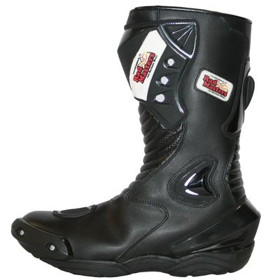 Motorbike Racing Sport Boots colour black – image 3