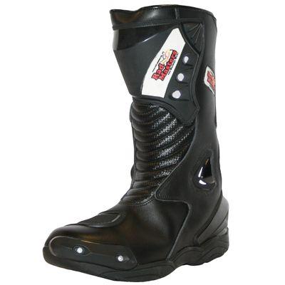 Motorbike Racing Sport Boots colour black – image 4