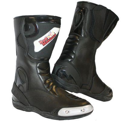 Motorbike Racing Sport Boots colour black – image 1