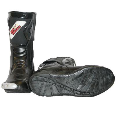 Motorbike Racing Sport Boots colour black – image 8