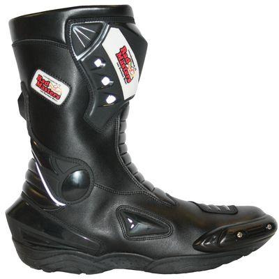 German Wear, Biker Motorradstiefel Motorrad Sport Touring Stiefel 31cm Schwarz – Bild 6