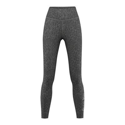 Leggins for Sports, Gym & Fashion stretch, grey melange