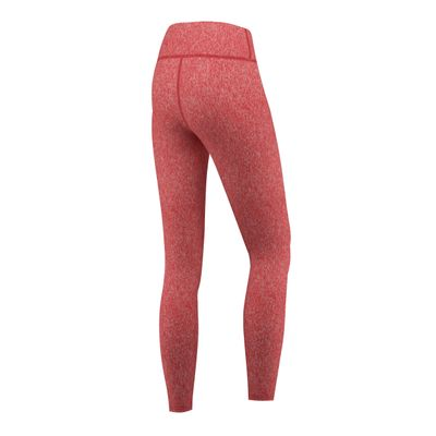 GermanWear Leggings Fitness Sport Gymnastik Training Tanzen Freizeit Rot melange – Bild 3