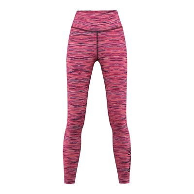 GermanWear Leggings Fitness Sport Gymnastik Training Tanzen Freizeit Rosa\schwarz melange – Bild 1