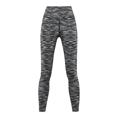 GermanWear Leggings Fitness Sport Yoga Gymnastik Training Tanzen Freizeit weiß\schwarz melange – Bild 1