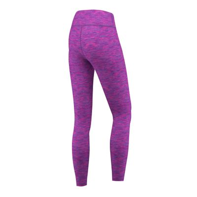 GermanWear Leggings Fitness Sport Gymnastik Training Tanzen Freizeit Lila\rosa melange – Bild 2