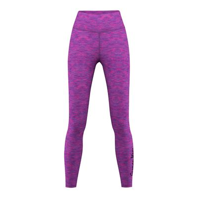GermanWear Leggings Fitness Sport Gymnastik Training Tanzen Freizeit Lila\rosa melange – Bild 1