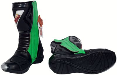 Motorbike Racing Sport Boots colour green/black – image 6