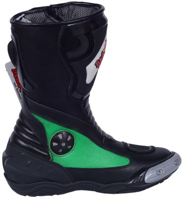 Motorbike Racing Sport Boots colour green/black – image 1