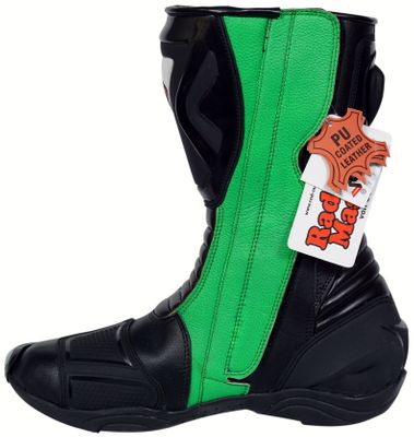 Motorbike Racing Sport Boots colour green/black – image 2