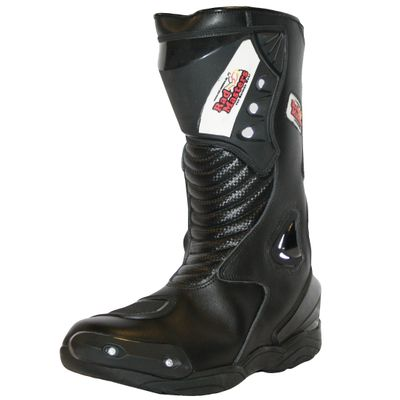 Motorbike Racing Sport Boots colour black – image 4