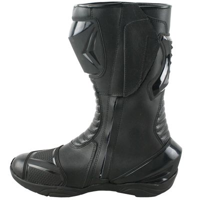 Motorbike Racing Sport Boots colour black – image 6