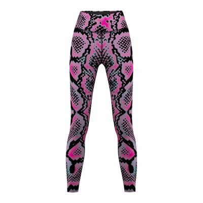Snake Skin, Leggings für Sport, Gymnastik, Yoga & Training