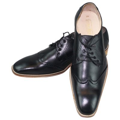 Business Shoes made of real Cowhide black – image 8