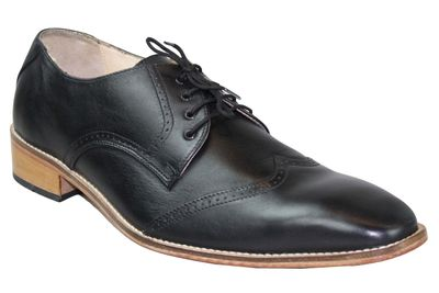 Business Shoes made of real Cowhide black – image 1