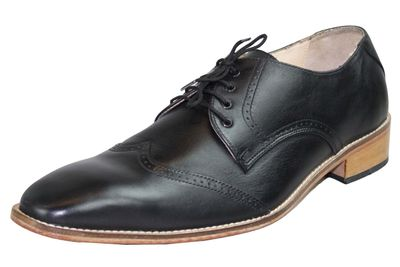 Business Shoes made of real Cowhide black – image 4