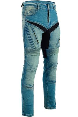 BULLDT, Motorbike Denim Jeans with Kevlar lining removable Protectors – image 2