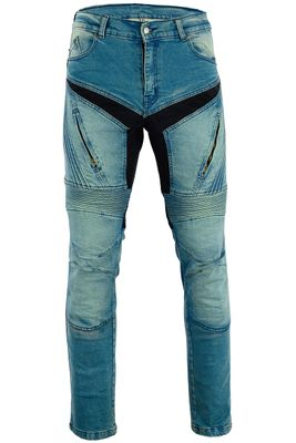 BULLDT, Motorbike Denim Jeans with Kevlar lining removable Protectors – image 1