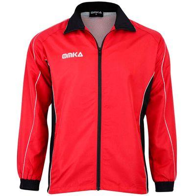 OMKA Trainingsanzug Sportanzug Jogginganzug  Freizeitanzug Rot – Bild 2