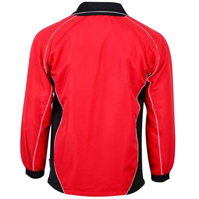 OMKA Trainingsanzug Sportanzug Jogginganzug  Freizeitanzug Rot – Bild 3