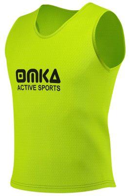 10 Stück OMKA Fußball Leibchen Trainingsleibchen Markierungshemd Fußballleibchen für Kinder Jugend und Erwachsene – Bild 9