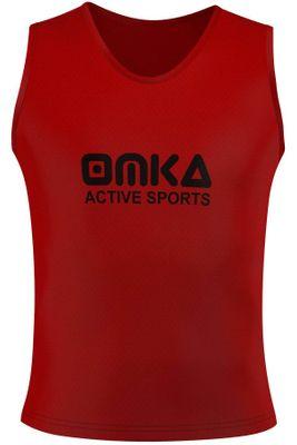 10 Stück OMKA Fußball Leibchen Trainingsleibchen Markierungshemd Fußballleibchen für Kinder Jugend und Erwachsene – Bild 5