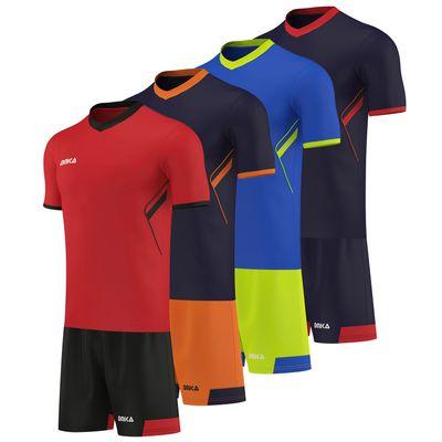 OMKA Trikotset 2-teilig Fußball Fitness Tennis etc Teamwear Jersey + Shorts set – Bild 1
