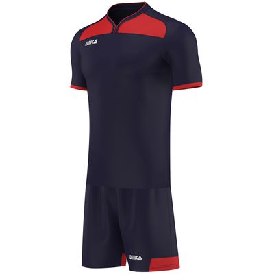 OMKA Herren Team Trikotset 2-teilig fußball set Fitness Team (Jersey + Shorts) – Bild 3