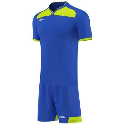 OMKA Herren Team Trikotset 2-teilig fußball set Fitness Team (Jersey + Shorts) – Bild 2