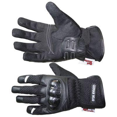 Motocross Motorbike Biker Summer Gloves Black – image 4