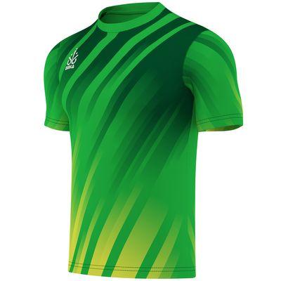 OMKA Trikot Teamsport Teamwear  Fussballtrikot Fantrikot  Shirt Jersey Grün – Bild 2
