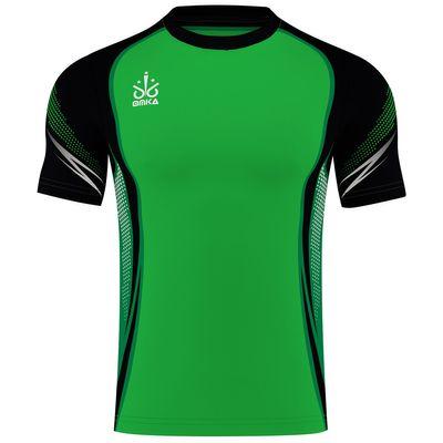OMKA Trikot Teamsport Teamwear  Fussballtrikot Fantrikot  Shirt Jersey Grün – Bild 1