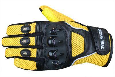 Motocross Motorbike Biker Summer Gloves Black – image 2