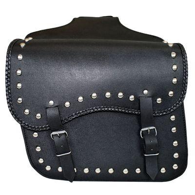 Motorrad Satteltasche Seitentasche Tasche Motorradtaschen Packtaschen saddlebag aus Büffelleder – Bild 1