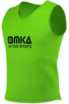12 Stück OMKA Fußball Leibchen Trainingsleibchen Markierungshemd Fußballleibchen für Kinder Jugend und Erwachsene – Bild 3