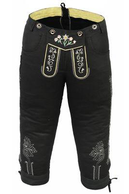 Damen Trachten Jeans Hose mit Hosenträgern  – Bild 2