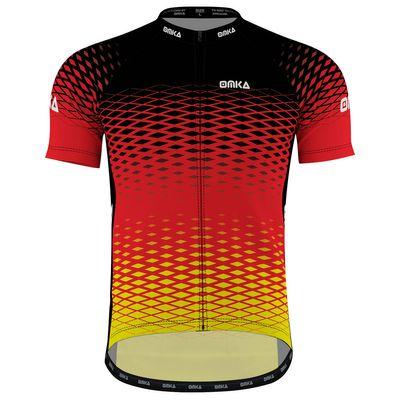 OMKA Herren Radtrikot Fahrrad Radler-Trikot Racing Performance Shirt mit Sublimationsdruck – Bild 1