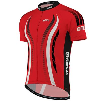 OMKA Pro Mens Team Racing Performance Cycling Jerseys with sublimation printing – image 2