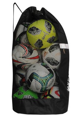 OMKA Football Rugby Handball ball bag travel bag Carry bag with shoulder strap for 10 balls – image 10