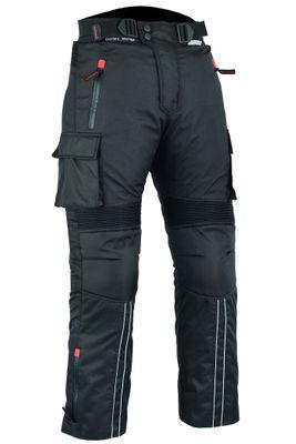 BULLDT Motorbike Trousers Cordura Pants Textile Combinable - Black