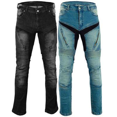 bulldt damen motorradjeans motorradhose denim jeans hose. Black Bedroom Furniture Sets. Home Design Ideas