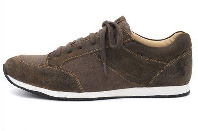 Trachtenschuhe Trachten Sneaker Luitpold 524-H Brown