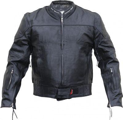 Leather Motorcycle Cruiser jacket